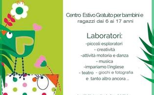Caltanissetta, a villa Amedeo un grest all'insegna della creatività per bambini e ragazzi