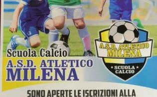 Atletico Milena, aperte le iscrizioni alla scuola di calcio. Di Marco: