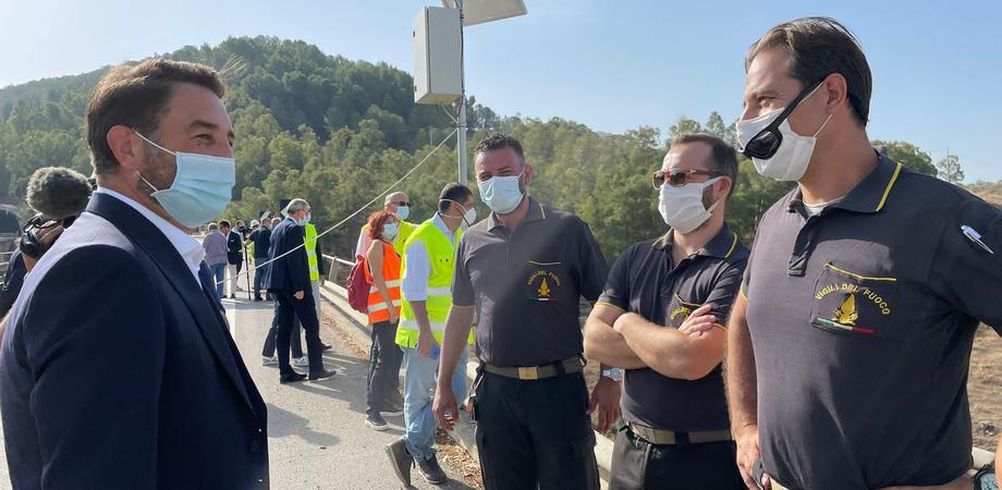 """A Caltanissetta demolito il Viadotto Salso, Cancelleri: """"Ss640 completa entro fine 2022"""""""