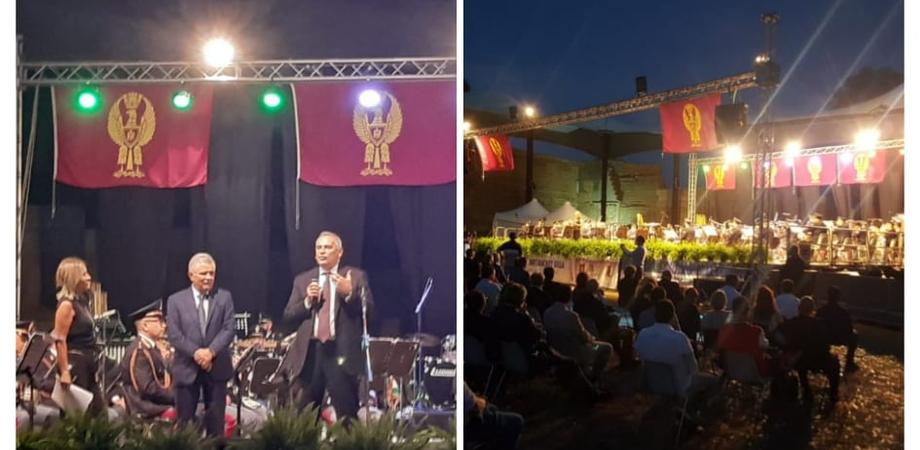 """A Gela il concerto della Banda della Polizia di Stato nella splendida cornice dell'area delle """"Mura Timoleontee"""""""