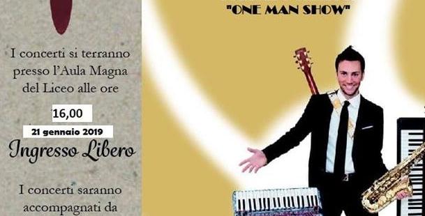 ONE MAN SHOW di Corrado Sillitti