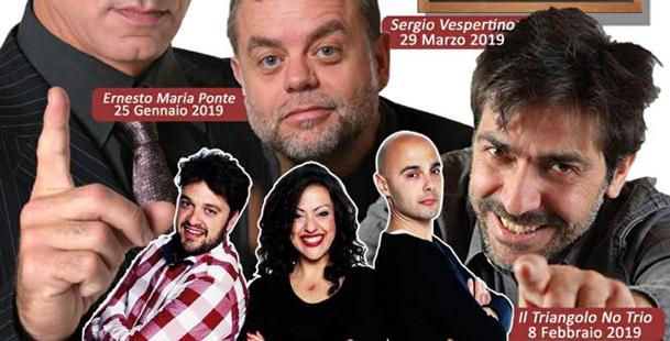 Sergio Vespertino - Stagione Teatro Comico