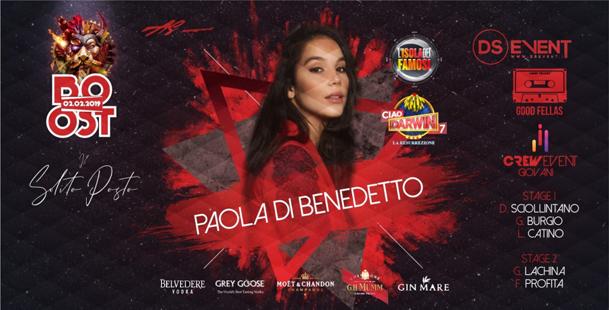 ✘Boost✘ Guest: Paola di Benedetto ★Solito Posto★