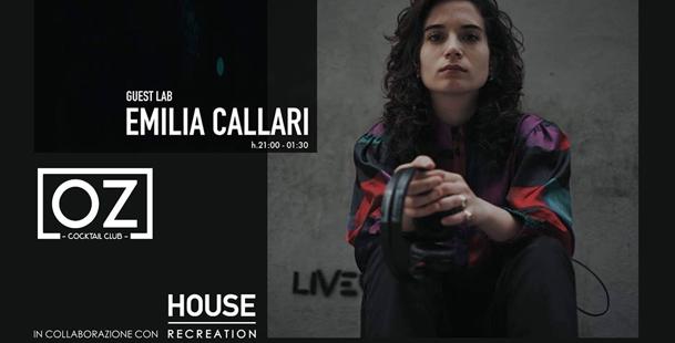 OZ - Guest Lab Emilia Callari