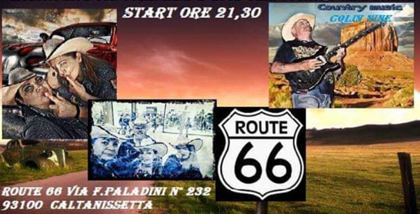 Country music -  Route 66