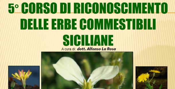 5° Corso di riconoscimento delle erbe commestibili siciliane