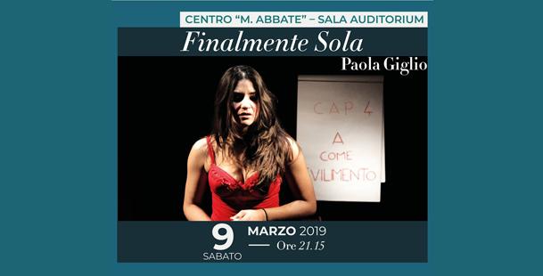 Finalmente Sola - Paola Giglio