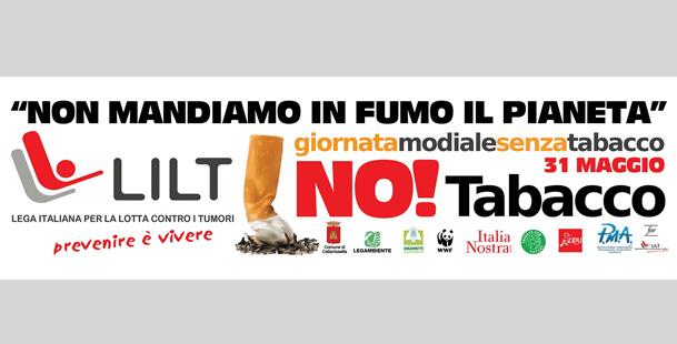 Giornata Mondiale Senza Tabacco 2019 -Visite gratuite alla LILT