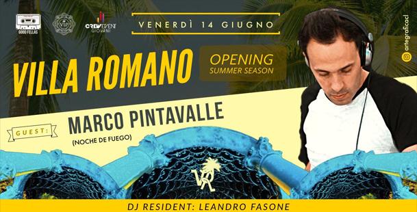 Inaugurazione Stagione Estiva ★ Villa Romano ★