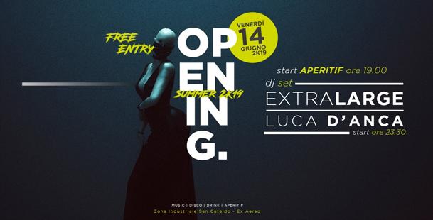 Opening |  Hangar 0.1 - DjSet + Disco • Free Entry