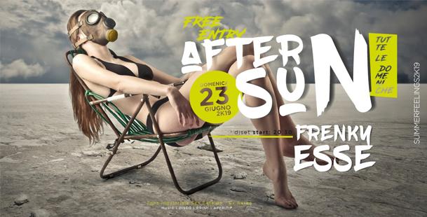 After sun | Dom 23 Giu // DjSet • Free Entry