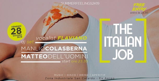 The Italian Job | Hangar 0.1 // DjSet + Disco