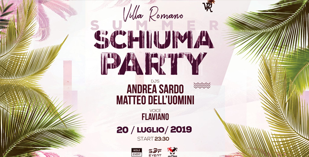 VR - Summer Schiuma PARTY 2K19