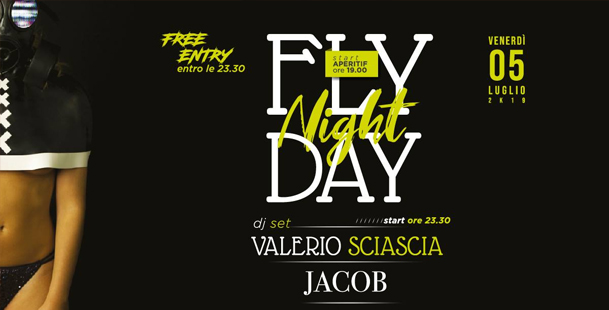 Flyday Night |  DjSet + Disco @Hangar 0.1