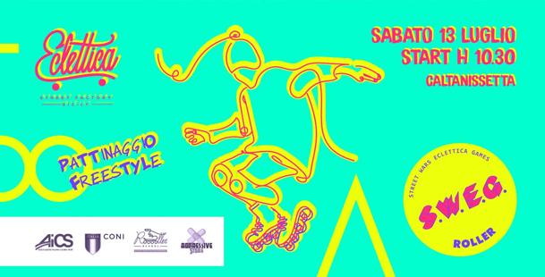 Pattinaggio Freestyle SWEG | Street Wars Eclettica Games
