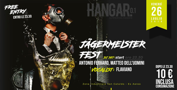 Jägermeister Fest | Ven 26 Lug // DjSet + Disco