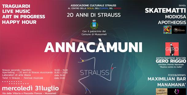Annacàmuni - Celebrazione Ventennale Strauss
