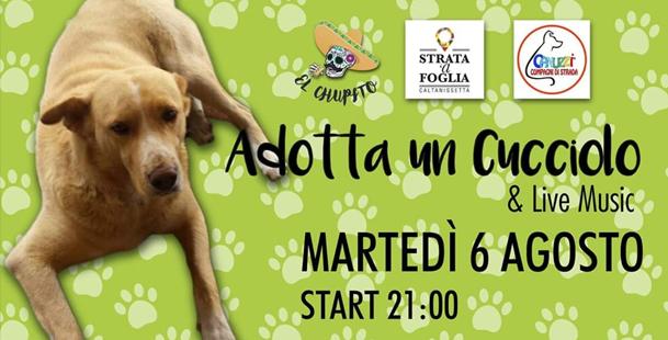 Adotta Un Cucciolo+Live Music @El Chupito