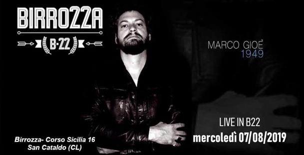 Live Marco Gioe' - Birrozza B22