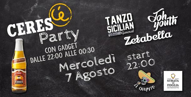Ceres Gadget Party @El Chupito