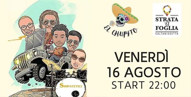 Simpatetici live @El Chupito