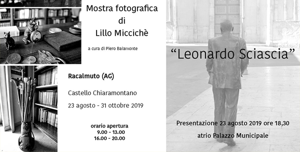 Mostra Fotografica Leonardo Sciascia
