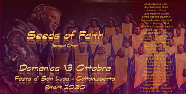 Seeds of Faith - Festa di San Luca