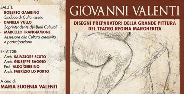 Disegni preparatori della grande pittura del Teatro R. Margherita