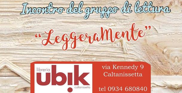 """Incontro Gruppo di Lettura """"LeggeraMente"""""""