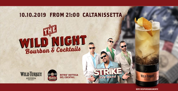 The Wild Night With: Strike Live Band