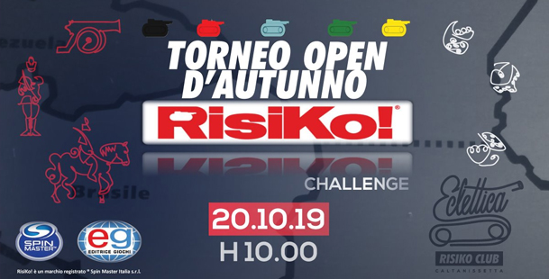 Torneo Open d'Autunno Risiko Challenge