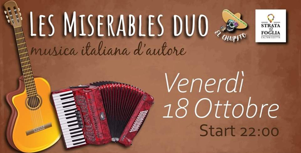 Les Miserables Duo live @El Chupito