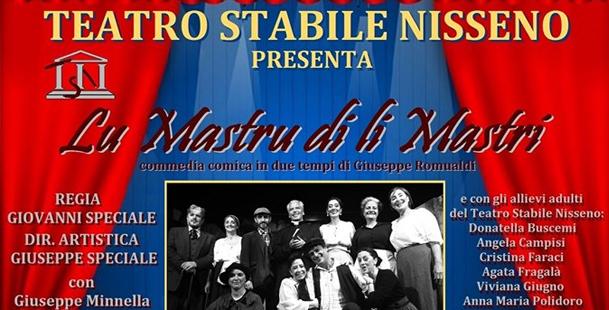 Lu mastru di li mastri - Teatro Stabile Nisseno