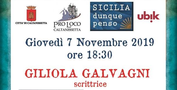 Giliola Galvagni scrittrice dialoga con lo psicologo Pietro Cavaleri
