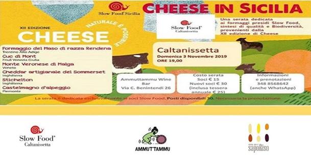 Cheese in Sicilia - Slowfood