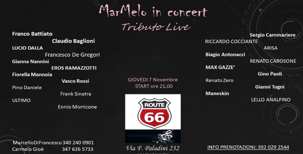 MarMelo In Concert - Route 66