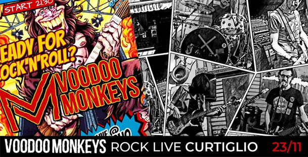 Voodoo Monkeys Live @Curtiglio