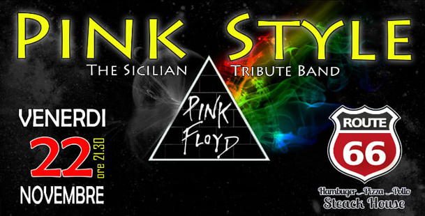 Tribute Pink Floyd @Route66