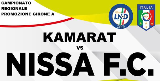 Calcio, campionato di Promozione - Nissa-Kamarat