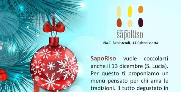 Santa Lucia da Saporiso!