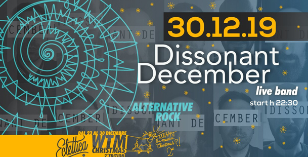 Dissonant December Live band at WTM Christmas 2nd Edition