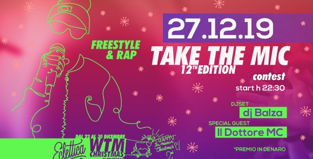 Take The MIC 12th Edition at WTM Christmas 2nd Edition