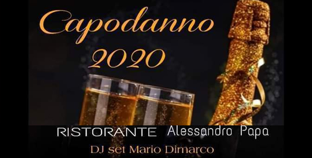 New Year's Eve 2020 • Alessandro Papa - Il Brillo