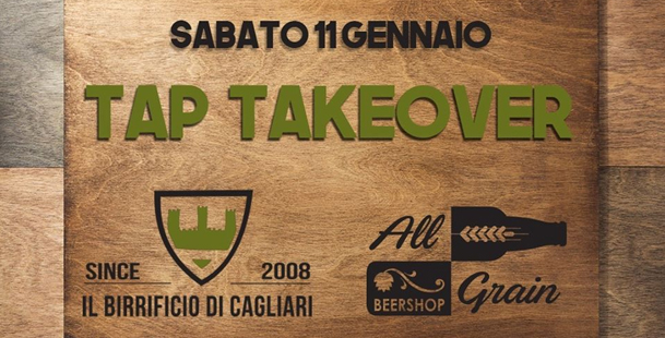 Tap Takeover - All Grain Beershop