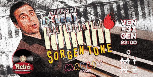 Antonio Sorgentone Live - Mine Pure Music