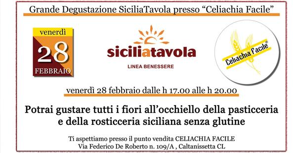 Grande Degustazione Sicilia Tavola - Celiachia Facile