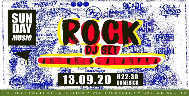 [SUN•DAY•MUSIC] DjSet ROCK Antonio Calandra at Eclettica