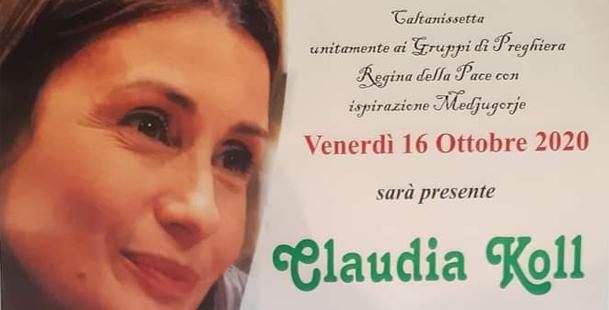 Testimonianza Di Claudia Koll a Caltanissetta - Chiesa San Paolo