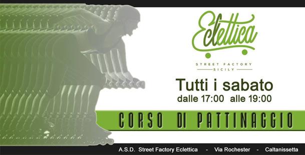 Corso di pattinaggio @Eclettica