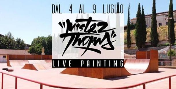 Street Art Week - Live Painting Mr Thoms e Graffiti Contest